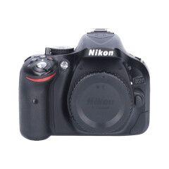 Tweedehands Nikon D5200 Body zwart Sn.:CM5340