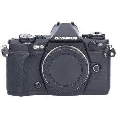Tweedehands Olympus E-M5 Mark II Body Zwart Sn.:CM5368