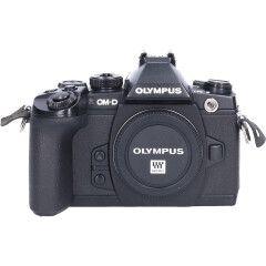 Tweedehands Olympus E-M1 Zwart - Body Sn.:CM5362