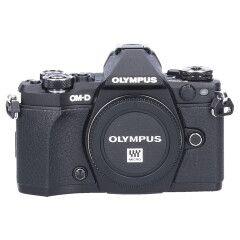 Tweedehands Olympus E-M5 Mark II Body Zwart Sn.:CM5002