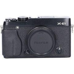 Tweedehands Fujifilm Finepix X-E1 Zwart Body Sn.:CM5060