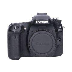 Tweedehands Canon EOS 80D Body Sn.:CM5078
