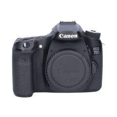 Tweedehands Canon EOS 70D - Body Sn.:CM5079