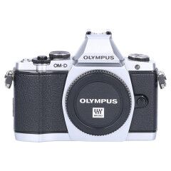 Tweedehands Olympus E-M5 body zilver Sn.:CM5617
