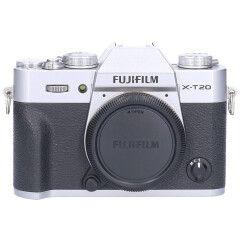Tweedehands Fujifilm FinePix X-T20 Body Zilver Sn.:CM6362