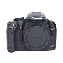 Tweedehands Canon EOS 500D - Body CM8507