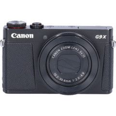 Demo Canon PowerShot G9 X Mark II Zwart Sn:CM1738