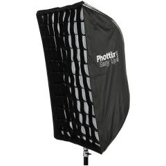 Phottix Easy-Up Softbox met Grid 60x90 + Parapluhouder