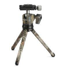 Leofoto Pocket Mini Tripod MT-01 + Ballhead LH-25 Camo