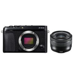 Fujifilm X-E3 Zwart + XC 15-45mm
