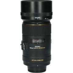 Tweedehands Sigma 105mm f/2.8 EX DG OS HSM Macro Nikon CM9196