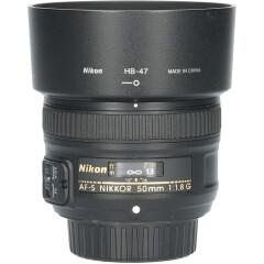Tweedehands Nikon AF-S 50mm f/1.8G CM5347