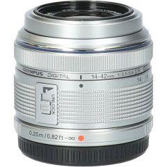 Tweedehands Olympus M.Zuiko Digital ED 14-42mm f/3.5-5.6 II R - Zilver CM1527