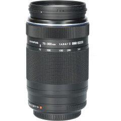 Tweedehands Olympus M.Zuiko Digital ED 75-300mm f/4.8-6.7 II - Zwart CM0569