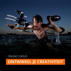 Online cursus: Ontwikkel je creativiteit (zonder coaching)
