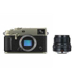 Fujifilm X-Pro3 Titan Dura Zilver + XF 23mm f/2.0 R WR