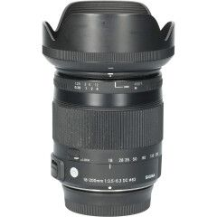 Tweedehands Sigma 18-200mm f/3.5-6.3 DC OS HSM Macro Contemporary Nikon CM0568