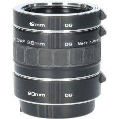 Tweedehands Soligor set tussenringen 3-delig voor Canon AF/EFS CM1041