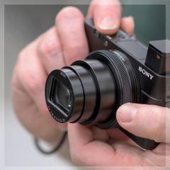 Training Sony compact- en bridgecamera's