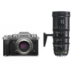 Fujifilm X-T4 Zilver + MKX 18-55mm T2.9 Cine