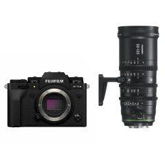Fujifilm X-T4 Zwart + MKX 50-135mm T2.9 Cine