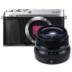 Fujifilm X-E3 Zilver + XF 35mm