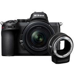 Nikon Z5 + 24-50mm f/4.0-6.3 + FTZ adapter
