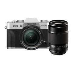 Fujifilm X-T30 Silver + XF18-55mm + XF55-200mm EE