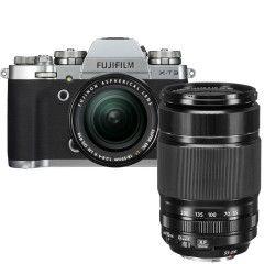 Fujifilm X-T3 Zilver + XF 18-55mm + XF 55-200mm