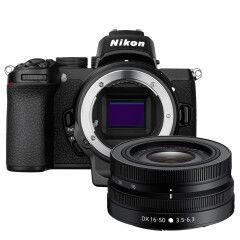 Nikon Z50 + DX 16-50mm + FTZ Mount adapter