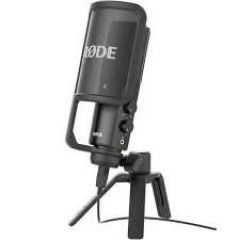 Rode NT-USB vocal/instrument iPad incl tripod shockmount