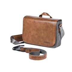 Olympus OM-D Messenger Leather Bag