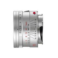 Leica Summarit-M 35mm f/2.4 Asph - Zilver