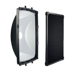 Elinchrom Square Reflector 44 cm met Grid
