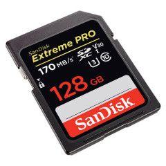 SanDisk SDXC Extreme Pro 128GB 170mb / 90mb U3 V30