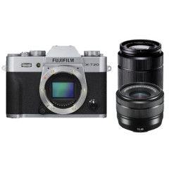 Fujifilm FinePix  X-T20 Silver / XC15-45mm / XC50-230mm II EE