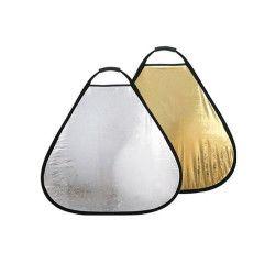 405 Photogear Opvouwbaar reflectiescherm goud/zilver 60 cm met handgreep