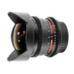 Samyang 8mm T3.8 Fisheye VDSLR CS-II Fuji X