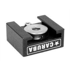 """Caruba Coldshoe adapter met 1/4"""""""