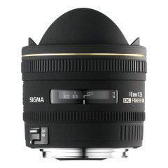 Sigma 10mm f/2.8 EX DC HSM Diagonal Fisheye Canon