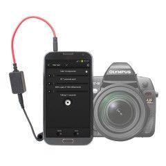 Triggertrap Smartphone afstandbediening met CB1 Olympus kabel