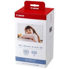 Canon KP-108IN 10x15 108 foto's, voor Selphy printers