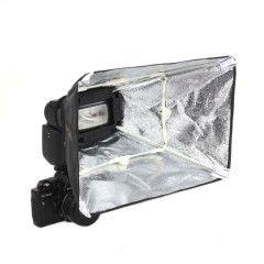 Falcon Eyes Softbox Zilver ESA-SB2030S 20x30 cm voor Camera Flitser
