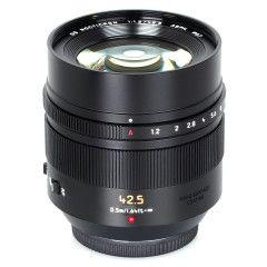 Panasonic Leica DG Noctricon 42.5mm f/1.2 ASPH - Zwart