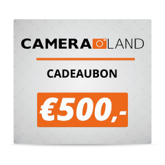 Cadeaubon t.w.v. €500,-