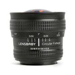 Lensbaby Circular Fisheye Lens Nikon F