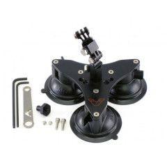 Vectormount Small Tri-Base + Single Knuckle GoPro zwart