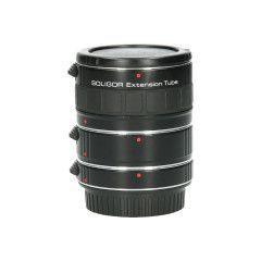 Tweedehands Soligor set tussenringen 3-delig voor Canon AF/EFS Sn.:CM8958