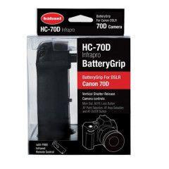 Hahnel HC-70D Infrapro Battery Grip voor EOS 70D