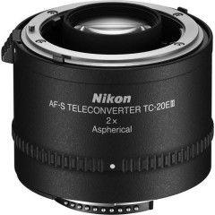 Nikon TC-20E III alleen voor AF-S objectieven